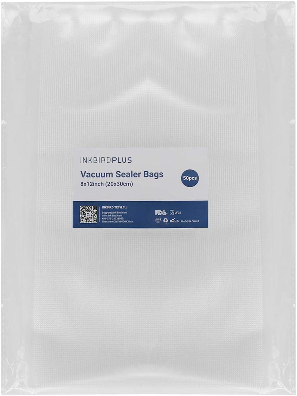 Inkbird Vacuum Sealer Bags for Food Saver,8