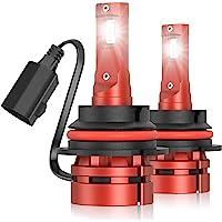 $42 » Torchbeam 9007 LED Headlight Bulb, 500% Brightness 16000 Lumens Per Pair, 6000K Xenon…