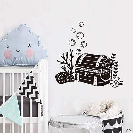 Art Chambre Enfant Bureau Classe Stickers Muraux Livre Pour Enfants Chambre B/éb/é Salle Biblioth/èque Salon /École