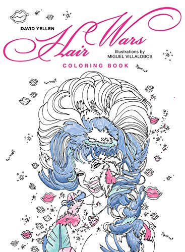 Search : Hair Wars Coloring Book