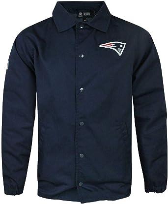 New Era NFL England Patriots Team Coach Mens Jacket: Amazon ...