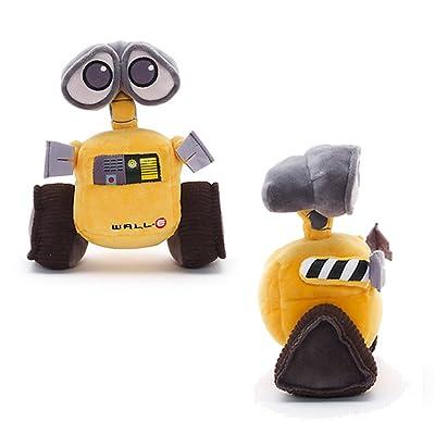Official Disney WALL-E 18cm Mini Bean Bag Soft Plush Toy: Toys & Games