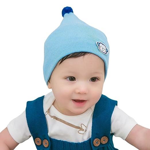 Amazon On Soft Monkey Pattern Baby Infant Toddler Beanie Hat