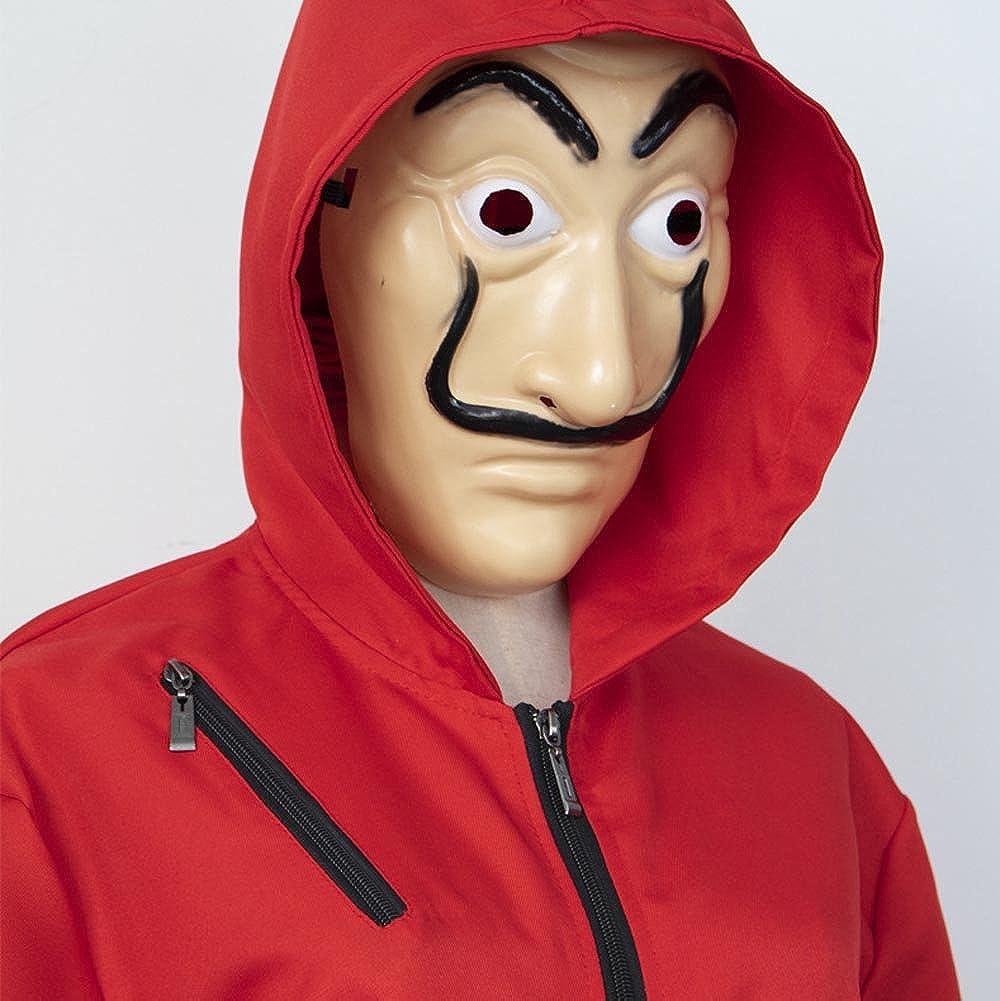 Amazon.com: KUFV Salvador Dali Cosplay Costume for La Casa ...