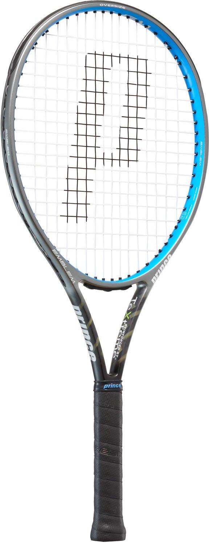 [プリンス] テニス ラケット エンブレム110 ブラック×ブルー 255g フレームのみ 7TJ078 1 ブラック B07FS1J81M