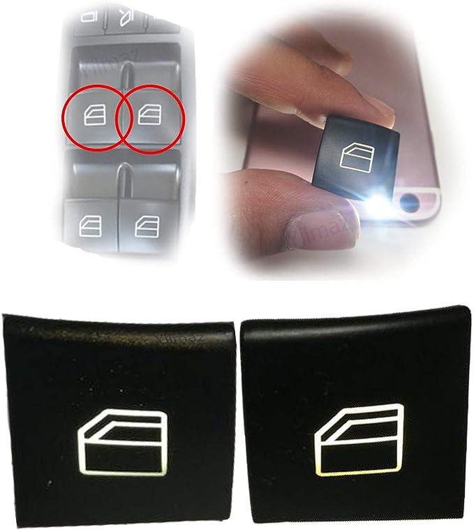 2x Für A B Klasse W169 W245 Fensterheber Schalter Knopf Auto