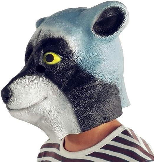 Máscara De Látex De Cabeza De Oso, Máscara De Cabeza Completa ...