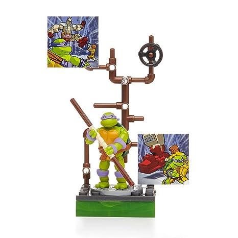 New Mega Bloks Teenage Mutant Ninja Turtles Donatello serie ...