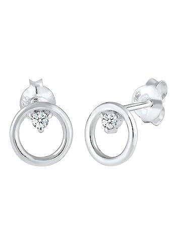acf9a9da04c6 Diamore Damen-Ohrstecker Diamant - 0306641417  Amazon.de  Schmuck