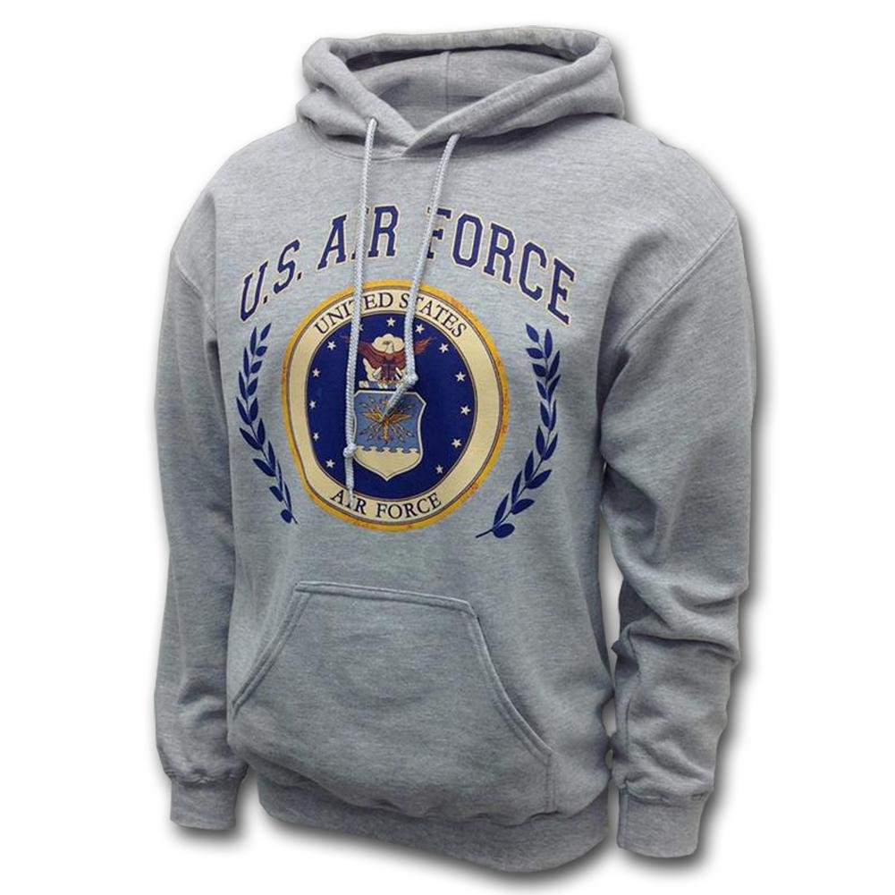 AIR FORCE LAUREL LEAF HOODED SWEATSHIRT  SM