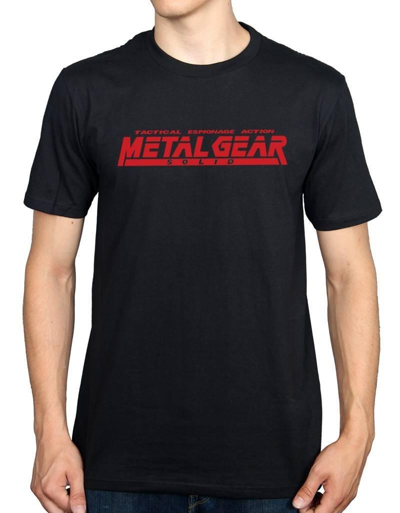 Ulterior Clothing Metal Gear Solid Playstation Game Tshirt