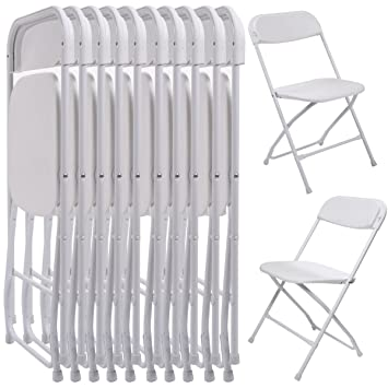 10 unidades) comercial boda calidad apilable silla plegable ...