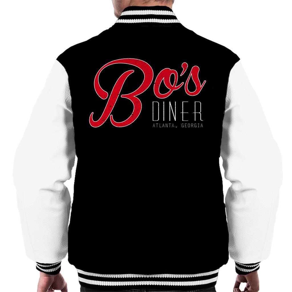 Bos Diner Atlanter Georgia Baby Driver Men's Varsity Jacket