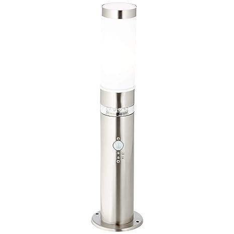 Lámpara de pie para exterior con detector de movimiento, 1 x ...