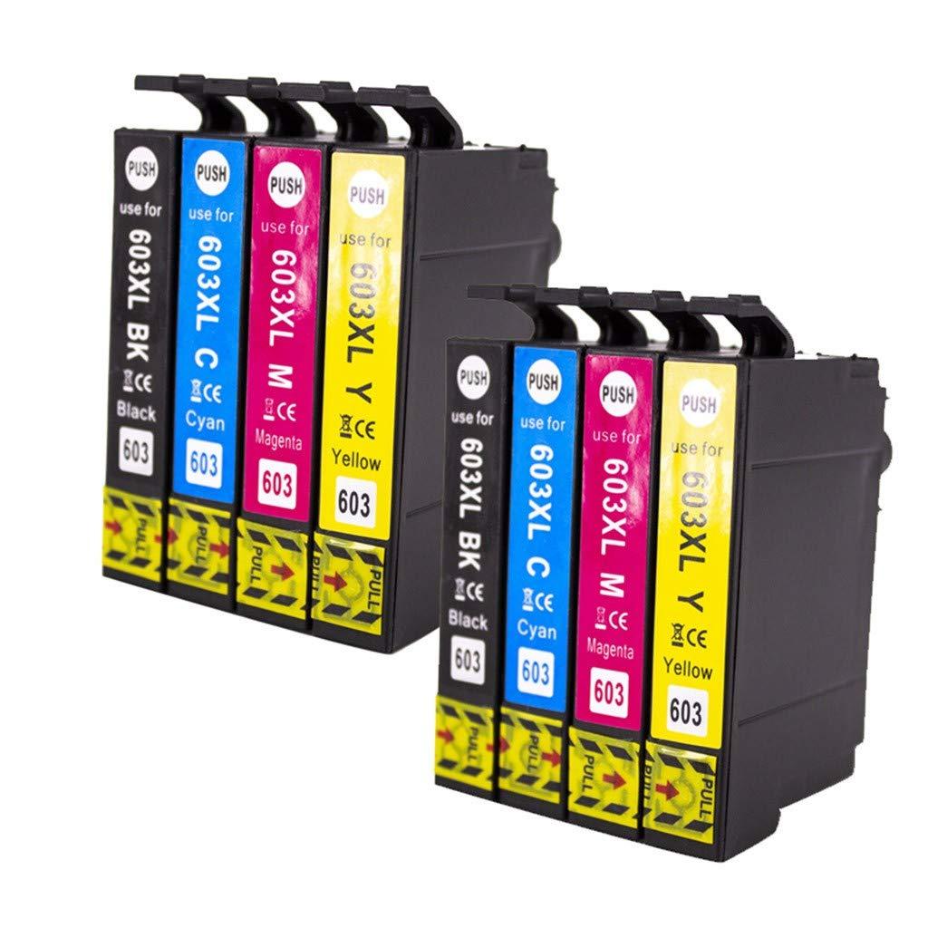 TwoCC Suministros de oficina Impresora Tonertank 603xl Adecuado ...