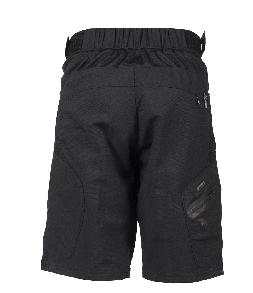 ZOIC Boy's Ether Jr. Shorts, Black, X-Large by Zoic (Image #2)