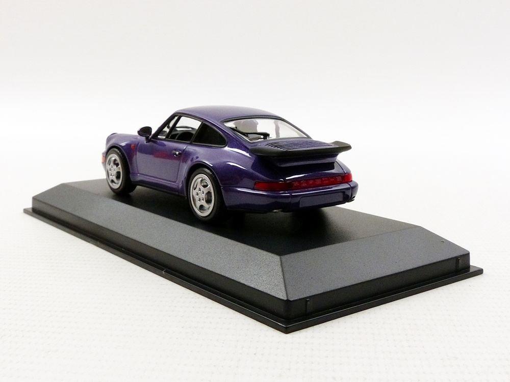Minichamps 1:43 - Escala Maxichamps 1990 Porsche 911 Turbo Modelo de Juguete: Amazon.es: Juguetes y juegos