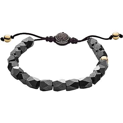 Diesel Men s Bracelet Beads DX1136710  Amazon.co.uk  Jewellery aa28cff05327
