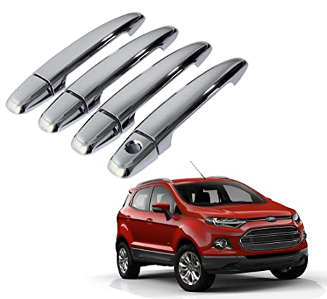 Autopearl Chrome Door Handle Latch Cover Ford Ecosport Amazon In