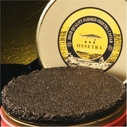 Bemka.com Russian Ossetra Crown Farmed Caviar, 1-Ounce - Crown Caviar