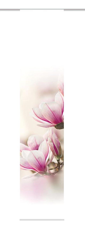 Home fashion 87285-723 - Tenda a pannello MAGNENE, tessuto decorativo, 300 x 60 cm, rosa 87285-723 H: 300 x B:60 cm