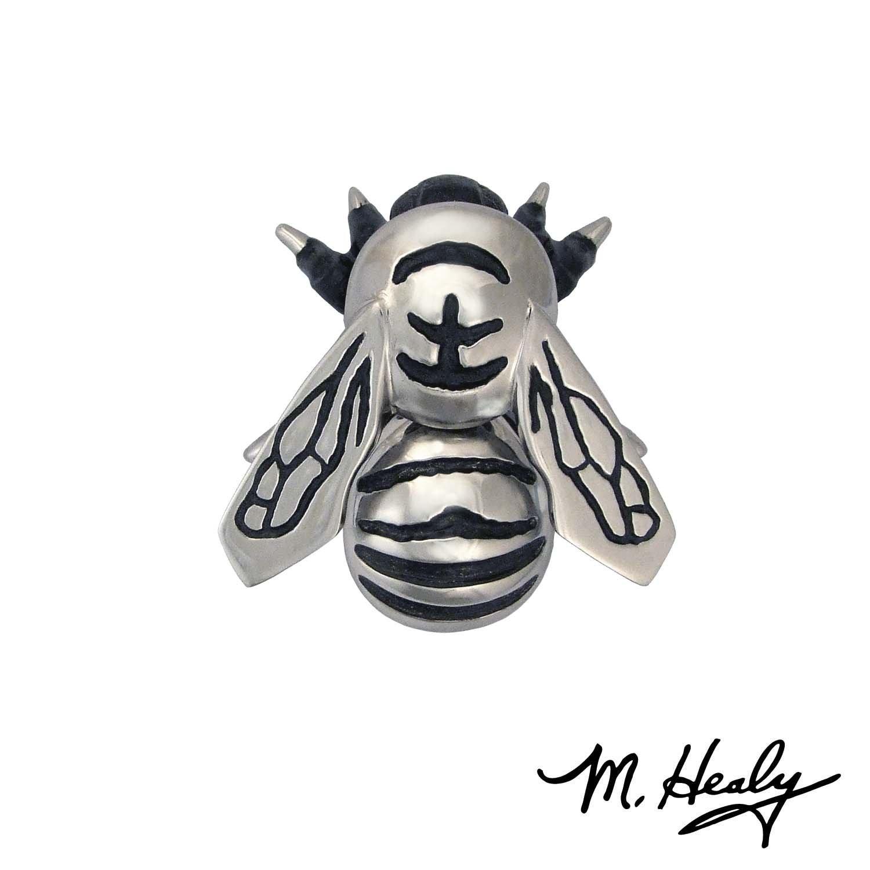 Michael Healy Designs MH1103 Bumblebee Premium Door Knocker, Nickel Silver