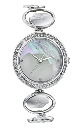 d419d0a7d37 Image Unavailable. Image not available for. Colour  Titan Raga Analog  Mother of Pearl Dial Women s Watch-NK2539SM01