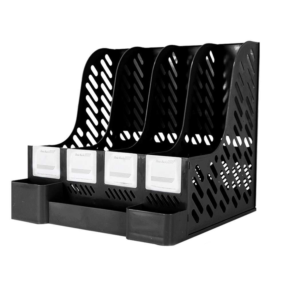 Dateiablage Ordner-Aufbewahrungsbox Desktop-Datenablage Regalordnerablage (Farbe   A) B07PDRBY7S    | Auktion