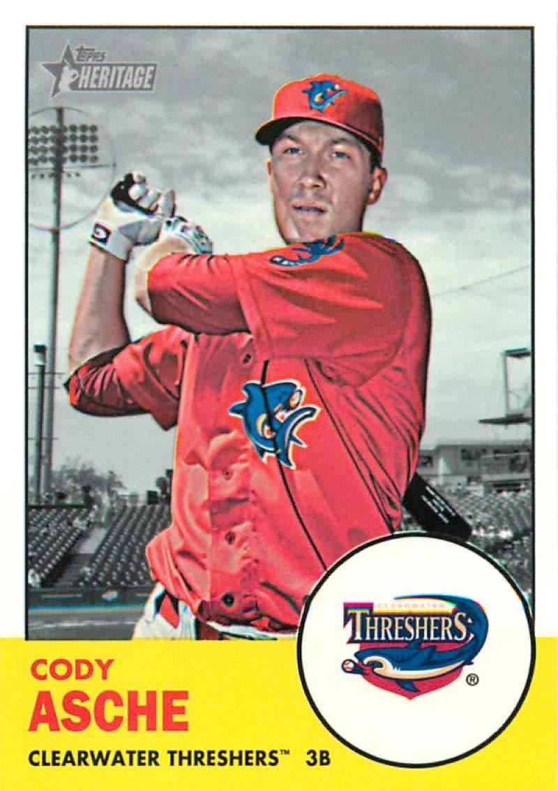 2018 Topps Heritage Minors Baseball /'69 Deckle Edge #29 Mickey Moniak