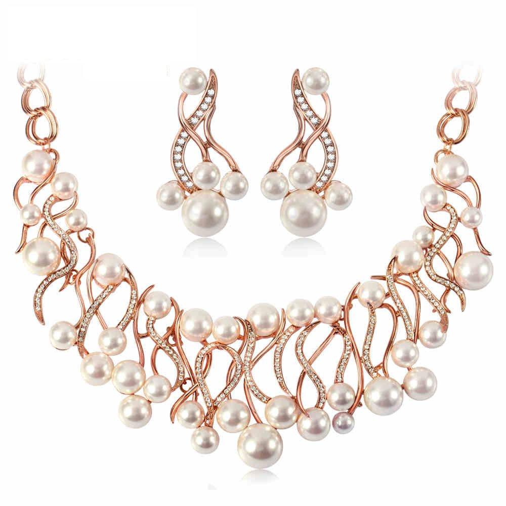 IUHA Pearl Necklace Elegant Jewelry/Gift /Fade Resistant/Hypoallergenic