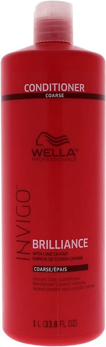 Wella Wella Invigo Brilliance Conditioner For Coarse Hair for Unisex 33.8 oz Conditioner, 1 L