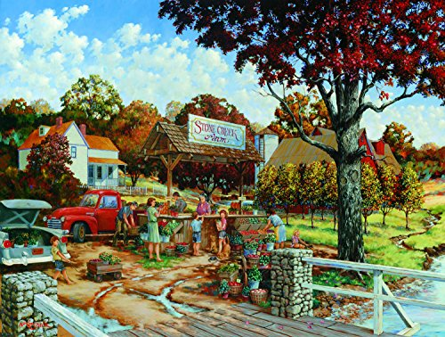 Creek Stone (Stone Creek Farm 300 Pc Jigsaw Puzzle by SunsOut)