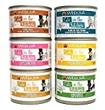 Weruva Cats in the Kitchen Canned Cat Food Variety Pkk – 6 Oz. Each – 6 Flavors – Goldie Lox, Kitty Gone Wild, Funk in the Trunk, Fowl Ball, Chicken Frik 'A Zee,Lamb Burger-ini (12 Pack)