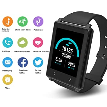 YUNTAB Brazalete Fitness Z8 monitor de ritmo cardíaco ...