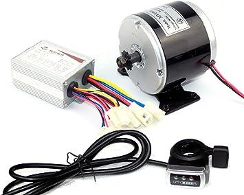 L-faster 24V 250W eléctrica cepilló el motor de DC eléctrico DIY ...