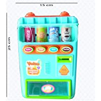 DE Cool ICW Simulate Electric Talking Vending Machine Set with Music Kid's Play-House Toy for Kids Age 3 Plus
