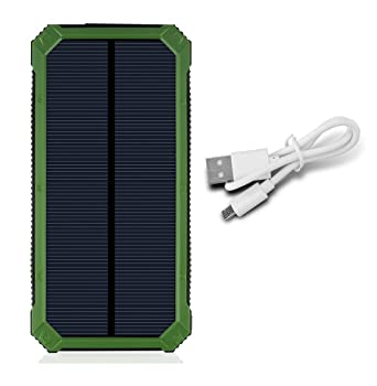 iyut Cargador Solar Portátil Solar banco de la energía 10000 ...