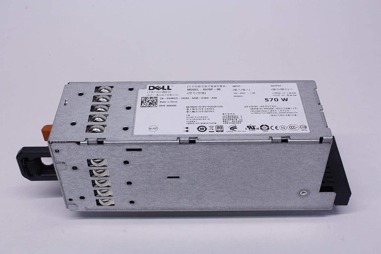 Dell G0KD5 Poweredge R710 570W Redundant Power Supply A570P-00