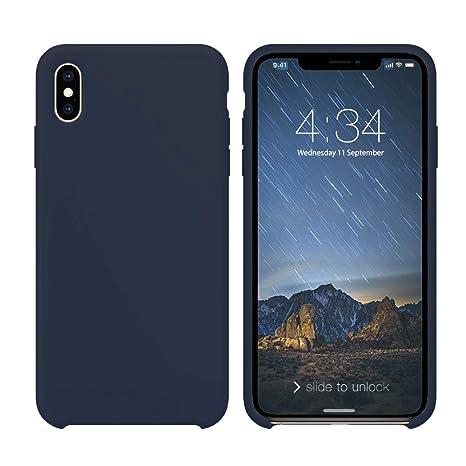 coque iphone xs silicone fine