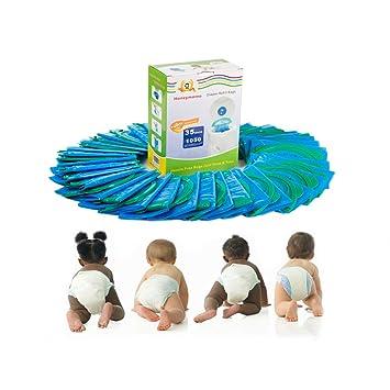 Amazon.com: Bolsas de recambio para pañales, 35 paquetes ...