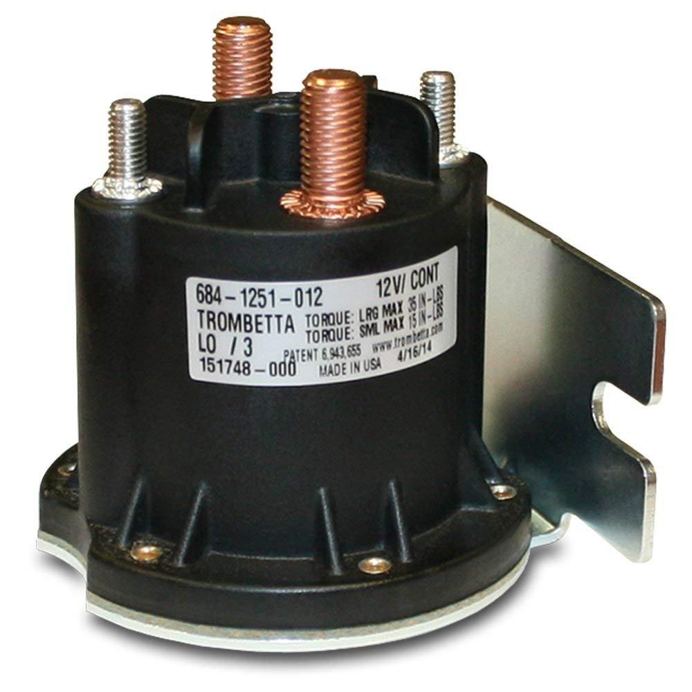 Trombetta 684-1251-012 12V Power Seal DC Contactor by Trombetta