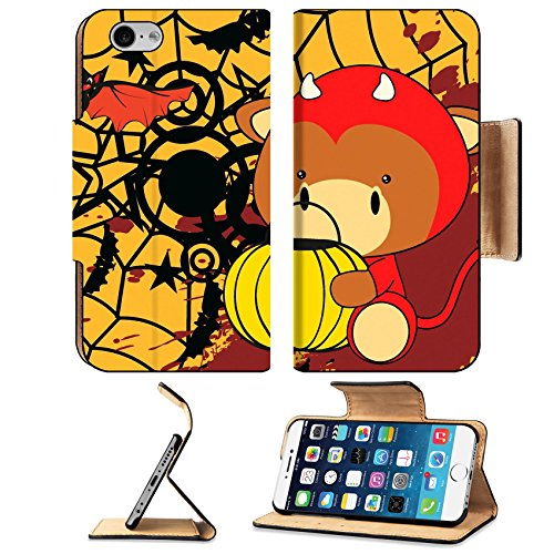 Art Stone Holiday Costumes (Liili Apple iPhone 6 iPhone 6S Flip Pu Leather Wallet Case bull baby cartoon halloween costume background in vector format iPhone6 IMAGE ID 31086697)