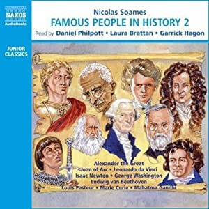 Famous People in History II (Unabridged) Audiobook