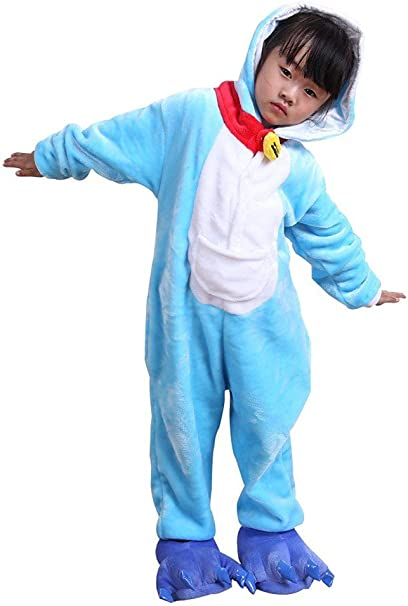 Auspicious beginning Doraemon Animal niños Pijama de Cosplay de ...