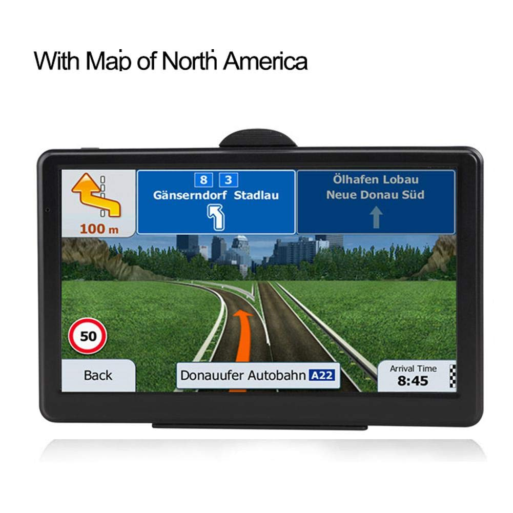 Futureshine 7-Inch GPS Navigation for Car 7 Inch Touch Screen RAM256M+ROM8GB Vehicle GPS Navigator System