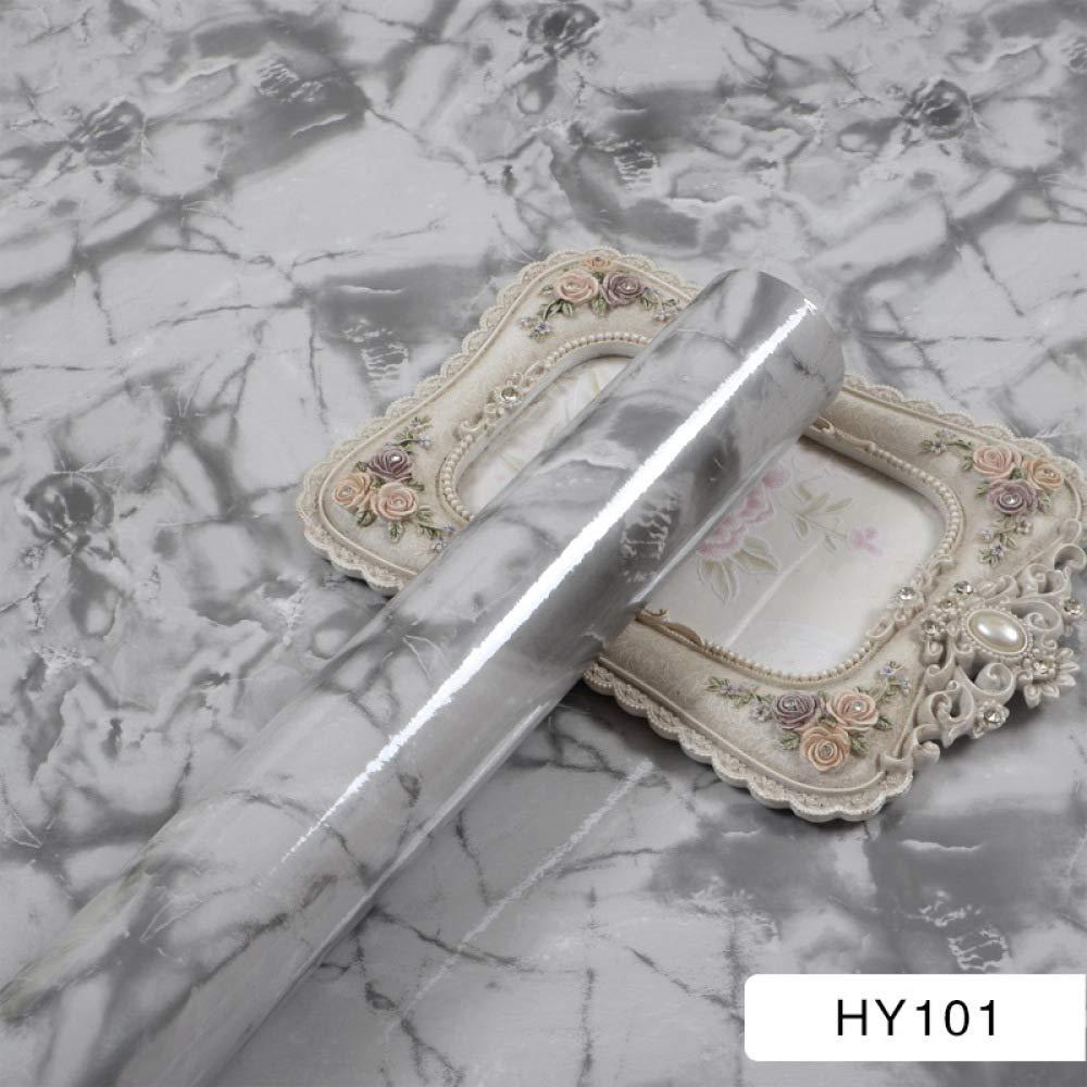 lsaiyy Patrón de mármol imitación Pegatinas Impermeable ...