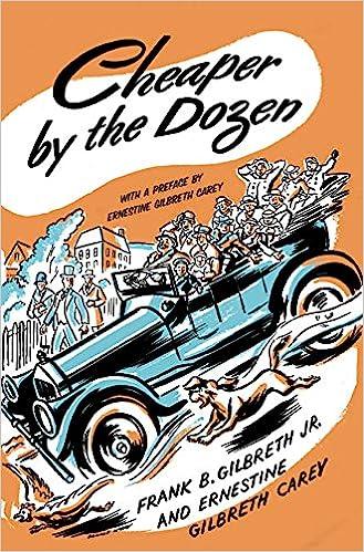 Cheaper by the Dozen: Amazon.es: Frank B. Gilbreth, Ernestine Gilbreth Carey: Libros en idiomas extranjeros