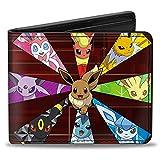 POKEMON Bi-Fold Wallet - Eevee Evolution Pokémon