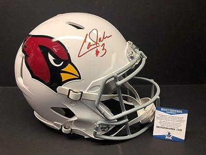f9ceb13d057 Carson Palmer Autographed Signed Arizona Cardinals F S Authentic Football  Helmet - Beckett Authentication