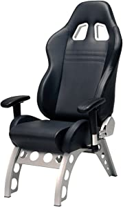 Pitstop Furniture GT4000B GT Receiver Chair, Black